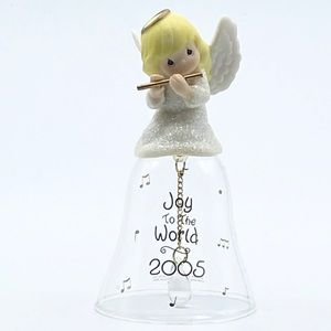 2005 Precious Moments Angel Glass Bell